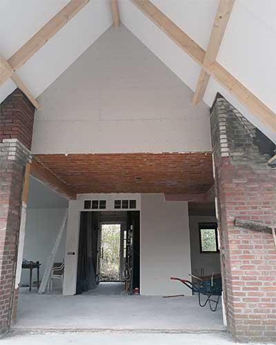 Aanbouw Bouwbedrijf Jongsma Woning