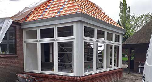 Uitgelichte foto aanbouw bouwbedrijf Jongsma Frieschepalen