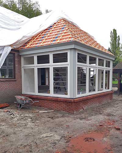 aanbouw jongsma bouwbedrijf huis