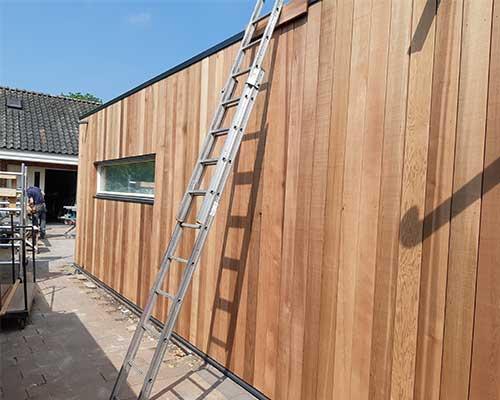 uitbouw bouwbedrijf jongsma frieschepalen