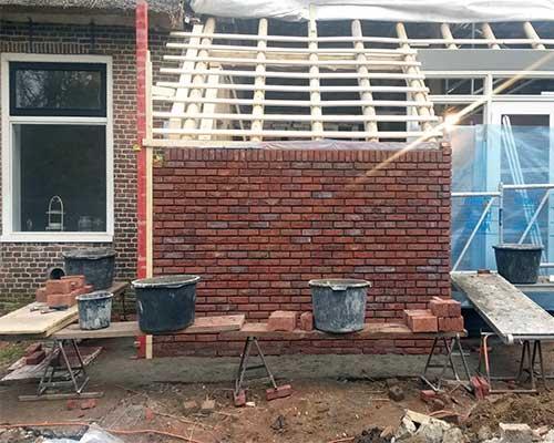 verbouwing bouwbedrijf jongsma onder constructie
